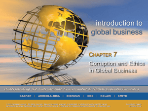 Introduction to Global Business 1e