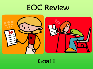 Goal 1 Review PPT