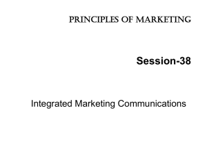 S38 Integrated Marketing Communicaion - Home