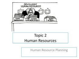Topic 2 Human Resources - churchillcollegebiblio