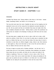 Study Guide 1 - Lighthouse Community Church