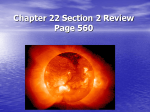 Chapter 19 Section 1 Review Page 474