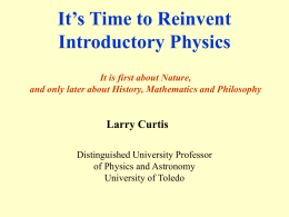 It's time to reinvent Introductory Physics