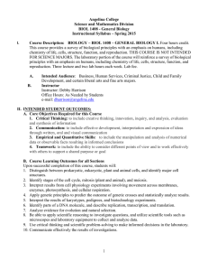 Syllabus - Angelina College