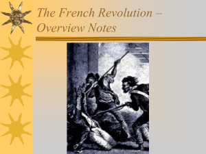 The Final Stages of the French Revolution