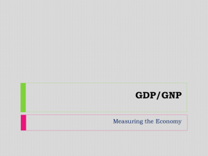 GDP/GNP - SteveTesta.Net
