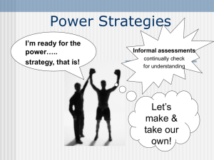 Make and Take Informal Assessment PPT as of june 17