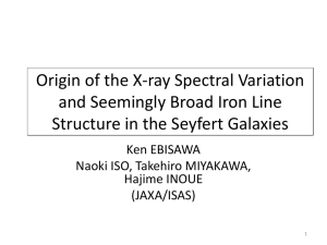 Origin of the X-ray Spectral Variation and Seemingly Broad Iron Line