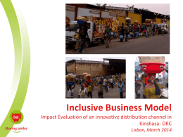 Inclusive Business Model