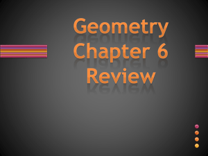 Chapter 6 PPT Review