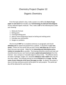 Chemistry Project Chapter 22