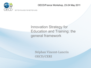 Innovation Strategy for Education and Training: the general