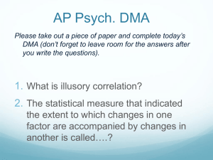 Welcome to AP Psychology!