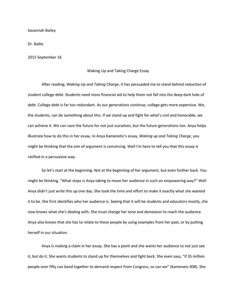 Generation debt anya kamenetz essay thesis mehrzahl