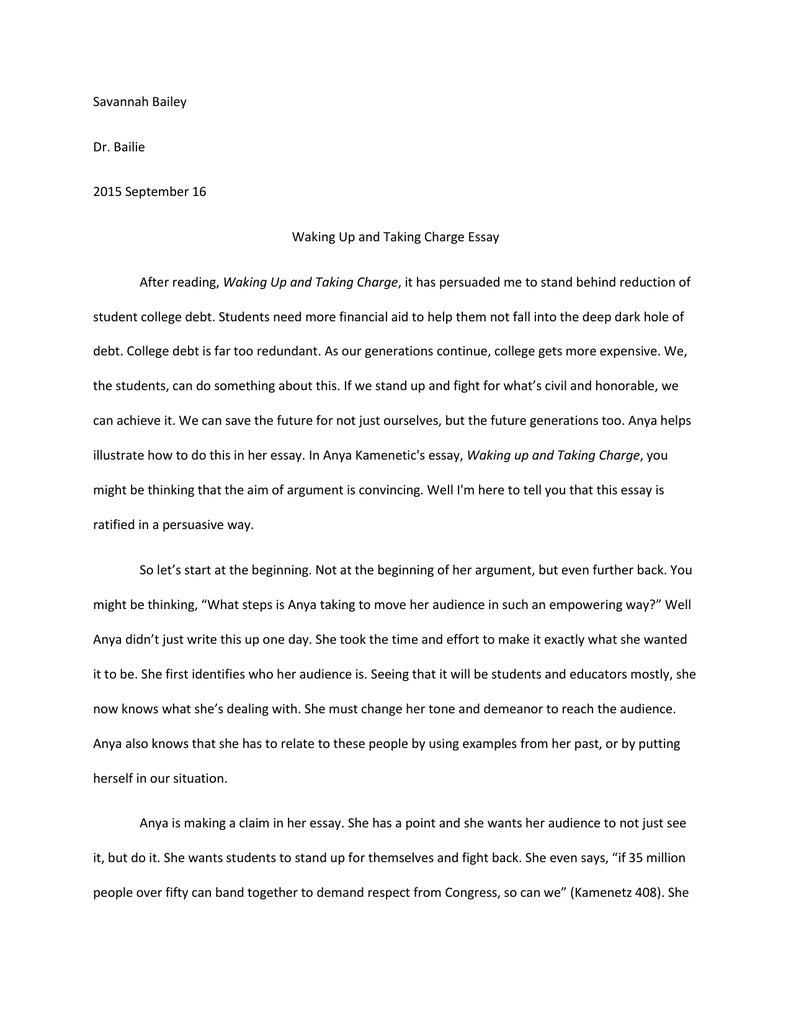 stand by me essay politics and religion s holy mess an essay by  waking up and taking charge essay