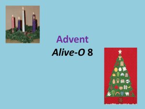 Advent (Term 1, Lesson 13