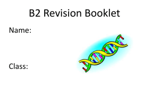 B2_Revision_Sheets - Chew Valley School | Intranet Homepage