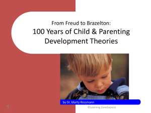 From Freud to Brazelton: 100 Years of Child & Parenting