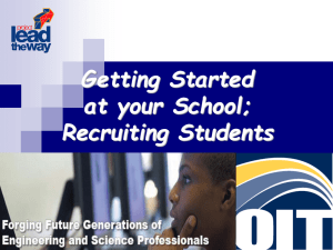 Getting Started and Recruitment