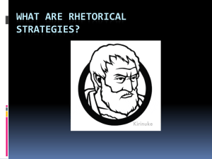 Rhetorical Devices