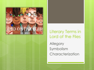 Literary Terms in Lord of the Flies