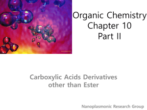 Organic Chemistry Chapter 1