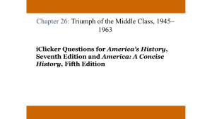 iClicker Questions for America's History, Seventh Edition and America