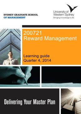 About Reward Management
