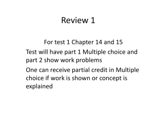 Review 1