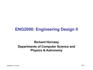 ENG2000: Engineering Design II