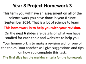 Yr8-assessment-revision-list-for