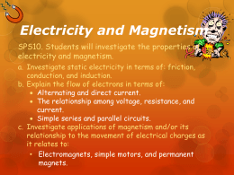 My Book of Electricity and Magnetism