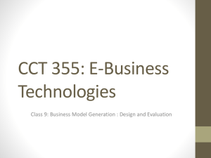 CCT 355: E-Business Technologies - cct355-f12