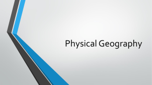 Physical Geography PowerPoint