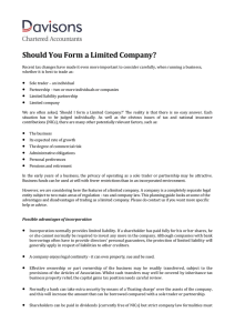 Should You Form a Limited Company?