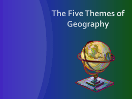 Physical and Human Geography
