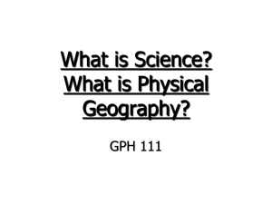 What is Physical Geography?