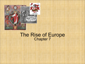 The Rise of Europe - WorldHistoryClinton
