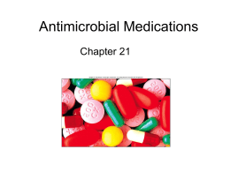 Antimicrobial Medications