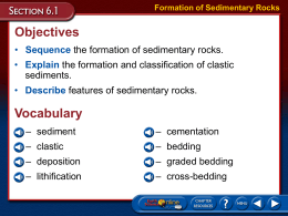 ES Chapter 06 Sedimentary Rocks