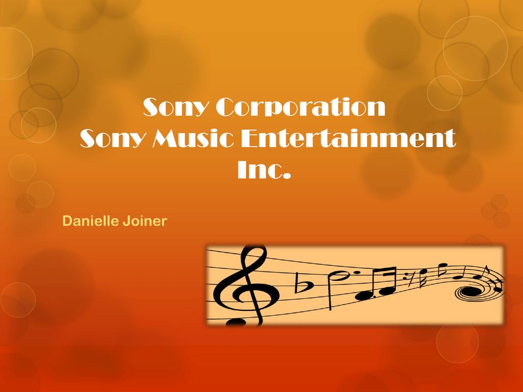 Sony Music Entertainment Inc