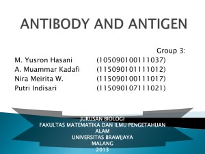antibody and antigen - Fatchiyah