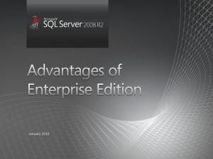SQL Server EE deck - Center
