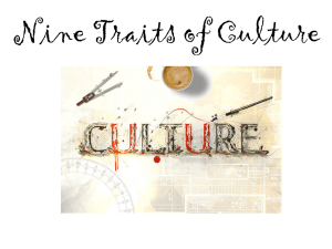 9 Traits of Culture