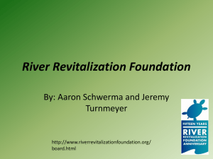 River Revitalization Foundation - University of Wisconsin–Milwaukee