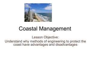 managing the coastline