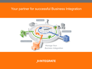 Why X-INTEGRATE?