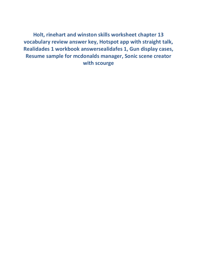 Skills Worksheet Vocabulary Review Delibertad – Skills Worksheet Vocabulary Review