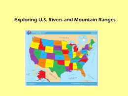 Rivers and Mountains ppt
