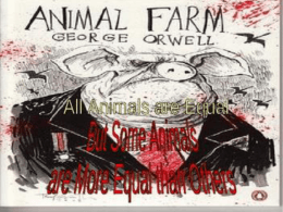 Animal Farm - Elgin Local Schools